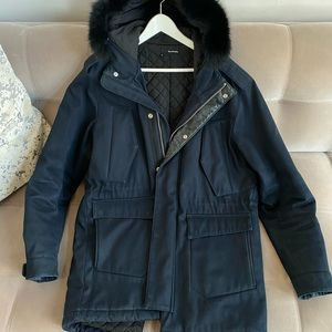 The Kooples - Navy Blue Winter Jacket